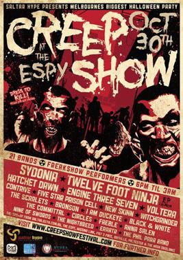 Sponsor - Creepshow Festival 2010