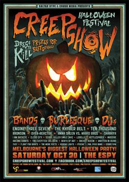 Sponsor - Creepshow Festival 2012
