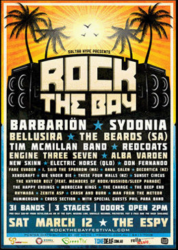 Sponsor - Rock The Bay Festival 2011