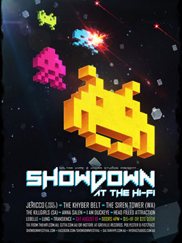 Sponsor - Showdown Festival 2013