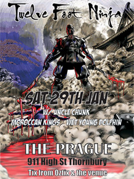 Hydra Presents - Twelve Foot Ninja, The Prague 2011
