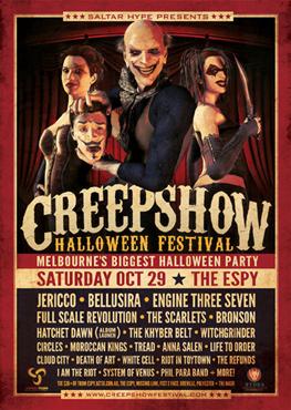 Sponsor - Creepshow Festival 2011