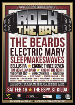 Sponsor - Rock The Bay Festival 2013