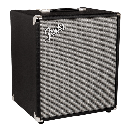 Fender Rumble 100, 100w bass amp ($15/session)